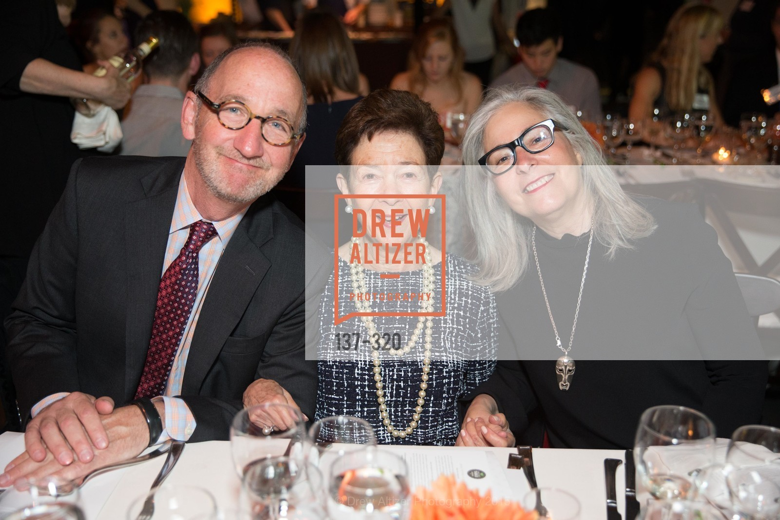 Mark Schlesinger, Roselyne Swig, Lori Starr, SF - Marin Food Bank Presents ONE BIG TABLE, SF- Marin Food Bank. 900 Pennsylvania Ave, September 26th, 2015,Drew Altizer, Drew Altizer Photography, full-service agency, private events, San Francisco photographer, photographer california