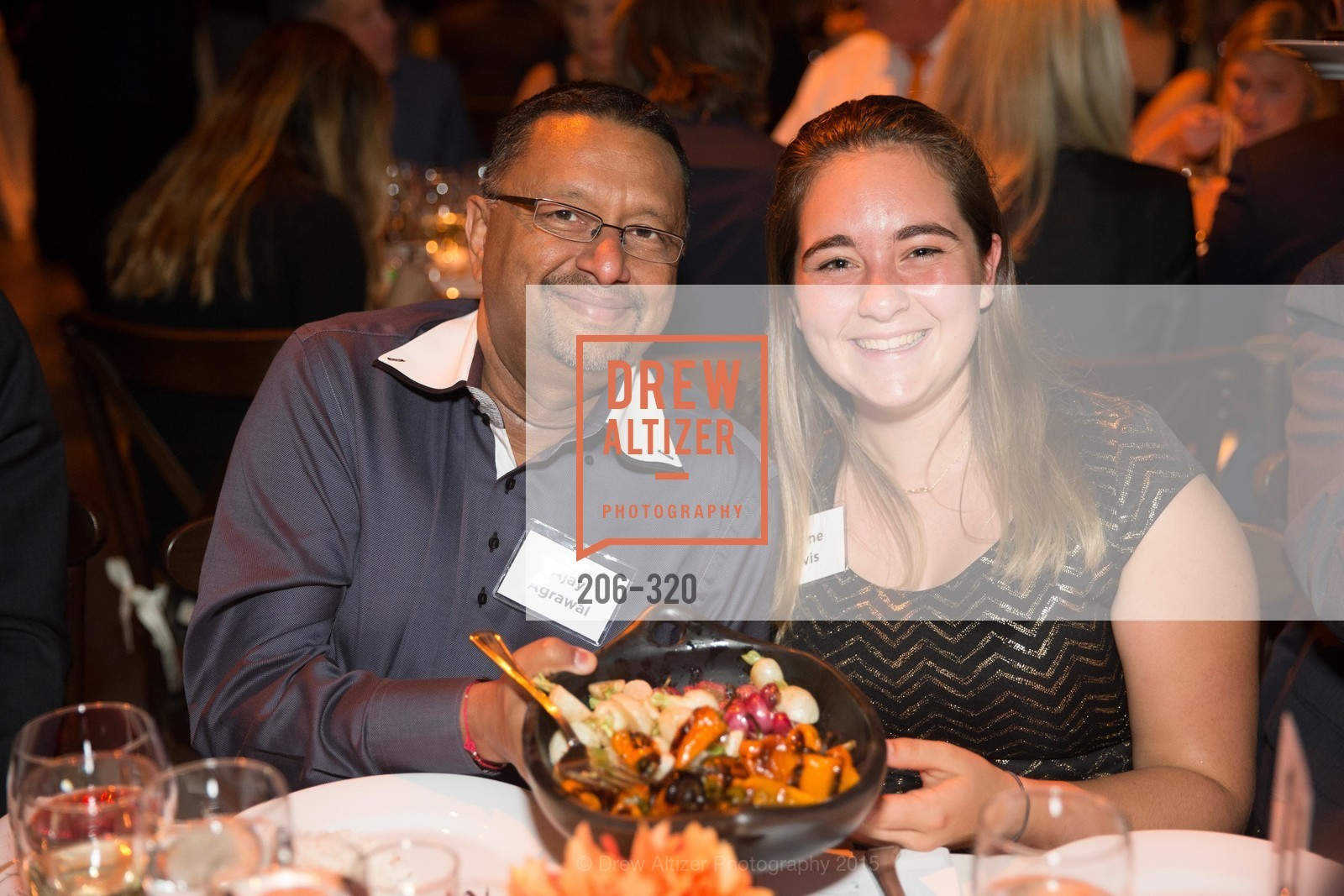 Ajay Agrawal, Jeanne Davis, SF - Marin Food Bank Presents ONE BIG TABLE, SF- Marin Food Bank. 900 Pennsylvania Ave, September 26th, 2015,Drew Altizer, Drew Altizer Photography, full-service agency, private events, San Francisco photographer, photographer california