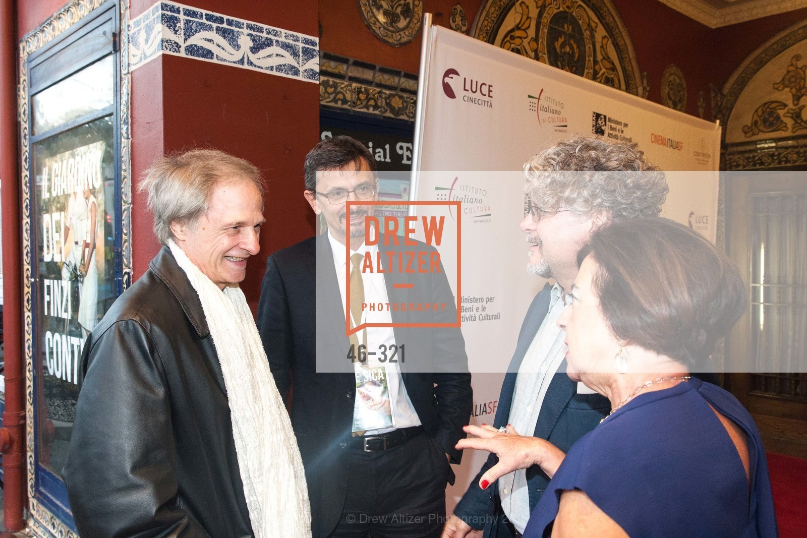 Lino Capolicchio, Paolo Barlera, Francisco Espanolo, Amelia Antonucci, Vittorio De Sica- A film series, The Castro Theater. 429 Castro Street, September 26th, 2015,Drew Altizer, Drew Altizer Photography, full-service agency, private events, San Francisco photographer, photographer california
