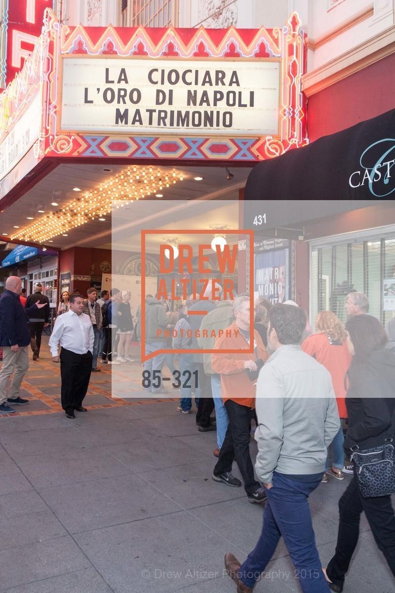 Atmosphere, Vittorio De Sica- A film series, The Castro Theater. 429 Castro Street, September 26th, 2015,Drew Altizer, Drew Altizer Photography, full-service agency, private events, San Francisco photographer, photographer california