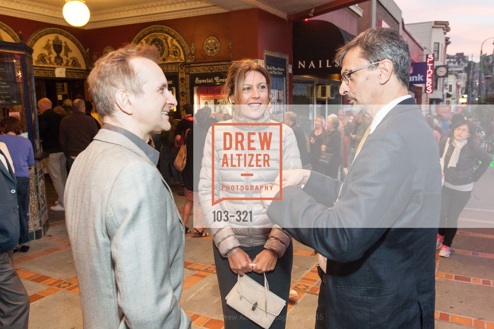 Mauro Battocchi, Camilla Cormanni, Paolo Barlera, Vittorio De Sica- A film series, The Castro Theater. 429 Castro Street, September 26th, 2015,Drew Altizer, Drew Altizer Photography, full-service agency, private events, San Francisco photographer, photographer california