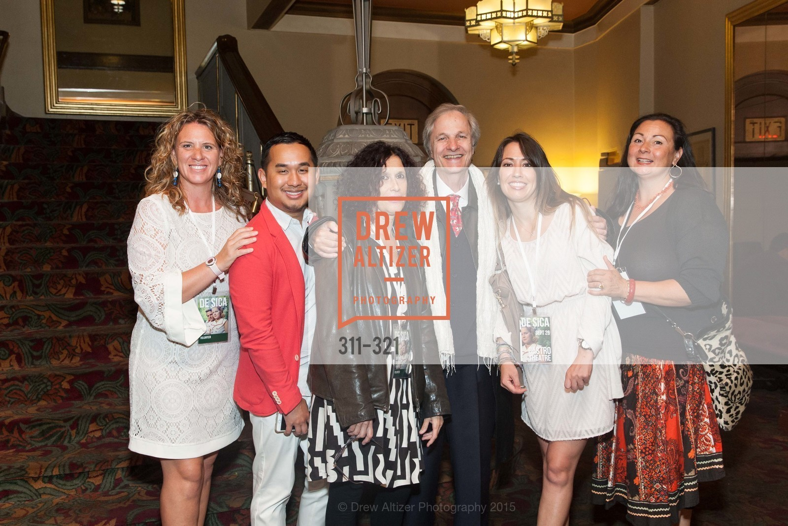 Marta Rigalza, Sophoan Sorn, Francesca Gaspari, Lino Capolicchio, Ingrid Sperow, Vittorio De Sica- A film series, The Castro Theater. 429 Castro Street, September 26th, 2015,Drew Altizer, Drew Altizer Photography, full-service agency, private events, San Francisco photographer, photographer california