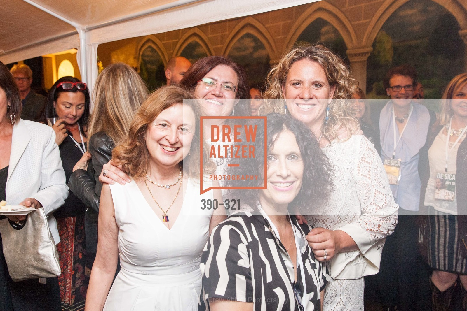 Sylvia Maresca, Elizabetta Baldini, Francesca Gaspari, Marta Rigalza, Vittorio De Sica- A film series, The Castro Theater. 429 Castro Street, September 26th, 2015,Drew Altizer, Drew Altizer Photography, full-service agency, private events, San Francisco photographer, photographer california