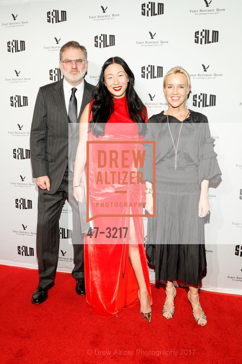 Noah Cowan, Sonya Yu, Heidi Fisher, Photo #47-3217