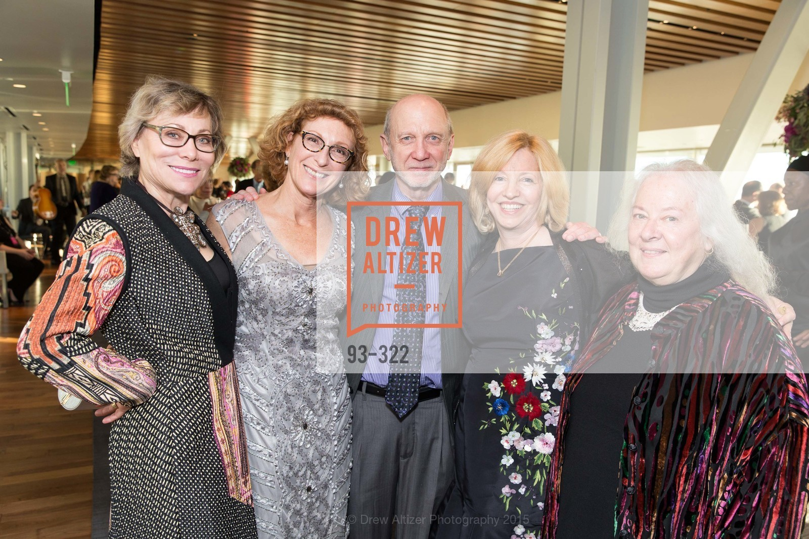 Leigh Teece, Maris Meyerson, Dan Rubinfeld, Gail Rubinfeld, Helen Meyer, Gala at The Greek Benefiting Cal Performances, UC Berkeley's Greek Theatre. 2001 Gayley Rd, September 25th, 2015,Drew Altizer, Drew Altizer Photography, full-service agency, private events, San Francisco photographer, photographer california
