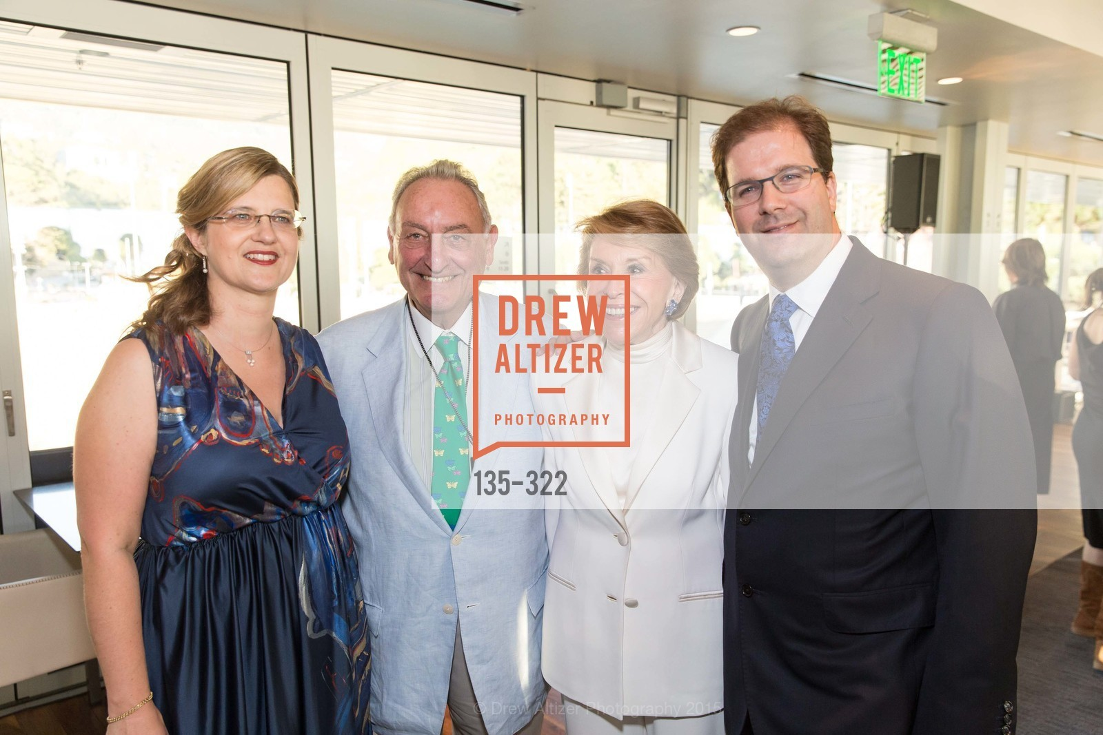 Birgit Hottenrott, Sanford Weill, Joan Weill, Matias Tarnopolsky, Gala at The Greek Benefiting Cal Performances, UC Berkeley's Greek Theatre. 2001 Gayley Rd, September 25th, 2015,Drew Altizer, Drew Altizer Photography, full-service agency, private events, San Francisco photographer, photographer california