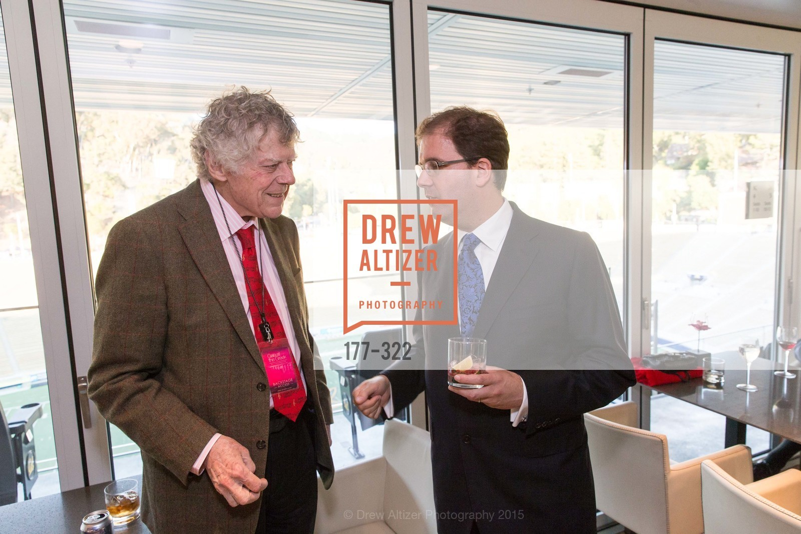 Gordon Getty, Matias Tarnopolsky, Gala at The Greek Benefiting Cal Performances, UC Berkeley's Greek Theatre. 2001 Gayley Rd, September 25th, 2015,Drew Altizer, Drew Altizer Photography, full-service agency, private events, San Francisco photographer, photographer california