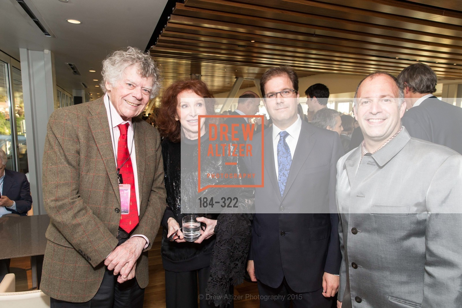 Gordon Getty, Ann Getty, Matias Tarnopolsky, Rob Bayliss, Gala at The Greek Benefiting Cal Performances, UC Berkeley's Greek Theatre. 2001 Gayley Rd, September 25th, 2015,Drew Altizer, Drew Altizer Photography, full-service agency, private events, San Francisco photographer, photographer california