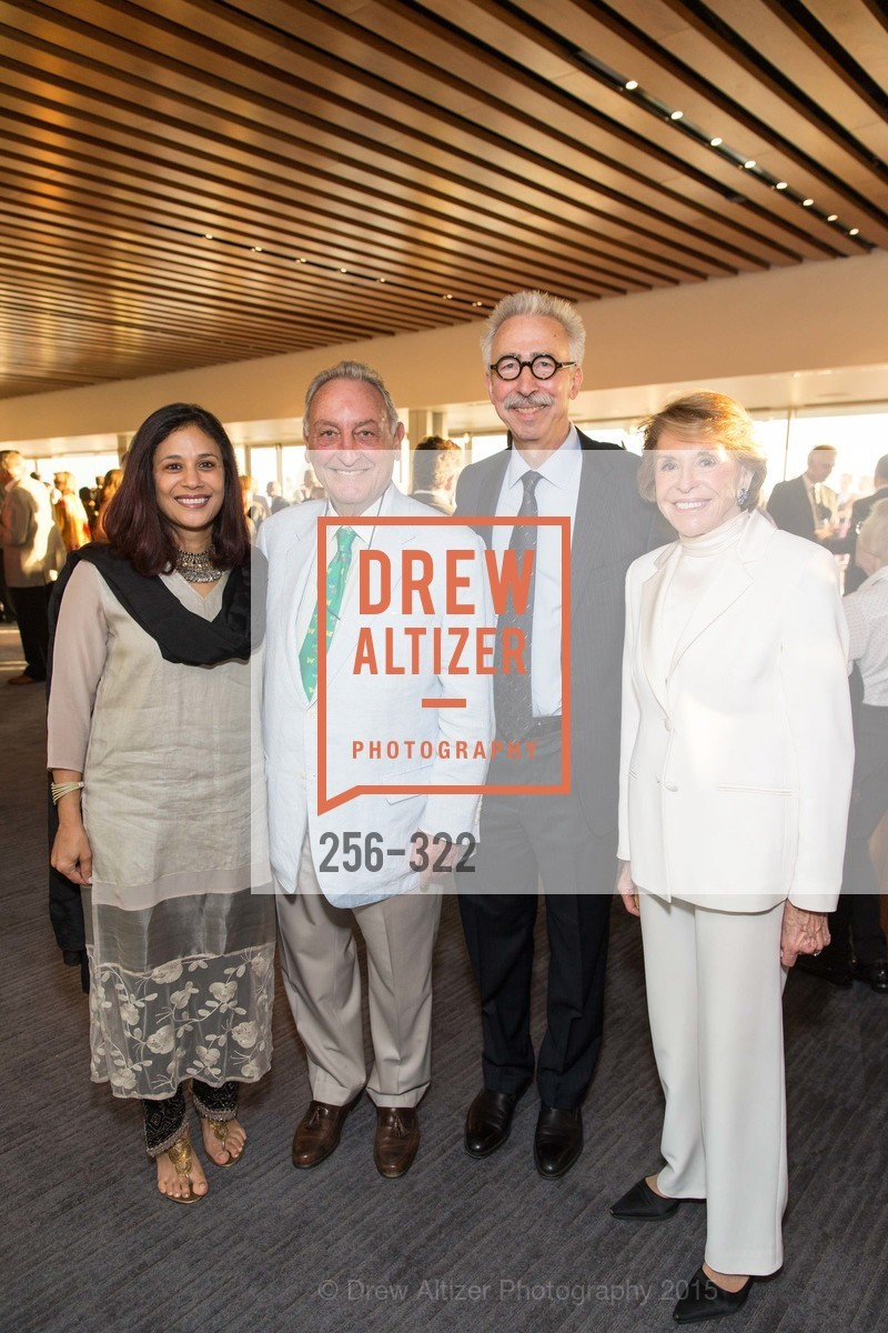 Janaki Bakhle, Sanford Weill, Nicholas Dirks, Joan Weill, Gala at The Greek Benefiting Cal Performances, UC Berkeley's Greek Theatre. 2001 Gayley Rd, September 25th, 2015,Drew Altizer, Drew Altizer Photography, full-service agency, private events, San Francisco photographer, photographer california