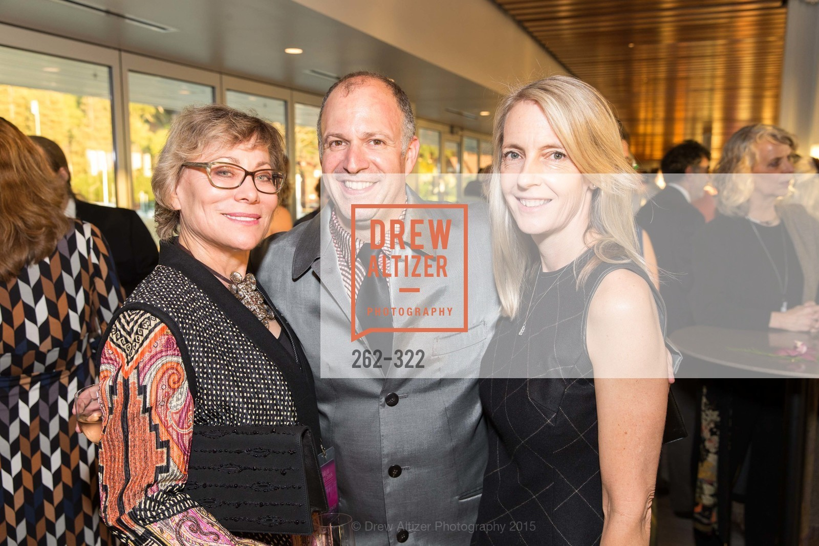 Leigh Teece, Rob Bayliss, Caroline Winnett, Gala at The Greek Benefiting Cal Performances, UC Berkeley's Greek Theatre. 2001 Gayley Rd, September 25th, 2015,Drew Altizer, Drew Altizer Photography, full-service agency, private events, San Francisco photographer, photographer california