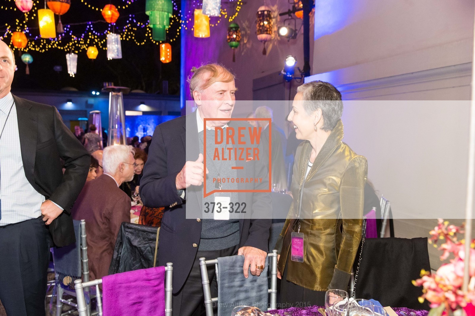 Dick Kramlich, Sako Fisher, Gala at The Greek Benefiting Cal Performances, UC Berkeley's Greek Theatre. 2001 Gayley Rd, September 25th, 2015,Drew Altizer, Drew Altizer Photography, full-service agency, private events, San Francisco photographer, photographer california