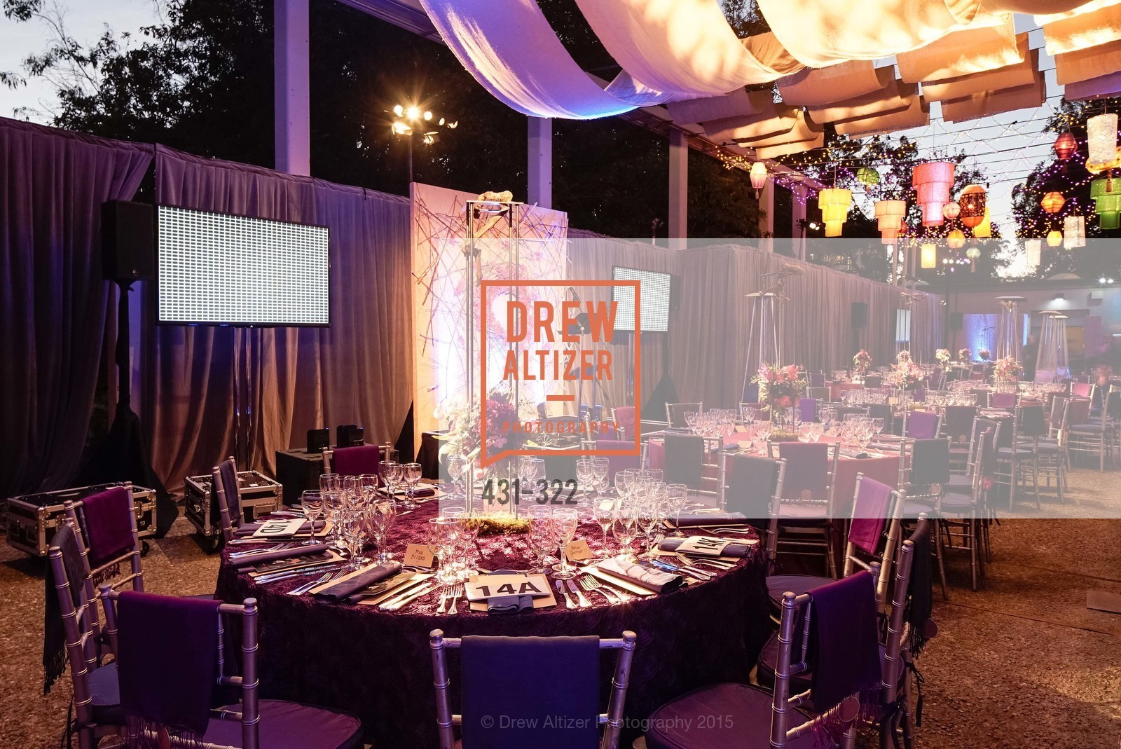 Atmosphere, Gala at The Greek Benefiting Cal Performances, UC Berkeley's Greek Theatre. 2001 Gayley Rd, September 25th, 2015,Drew Altizer, Drew Altizer Photography, full-service agency, private events, San Francisco photographer, photographer california