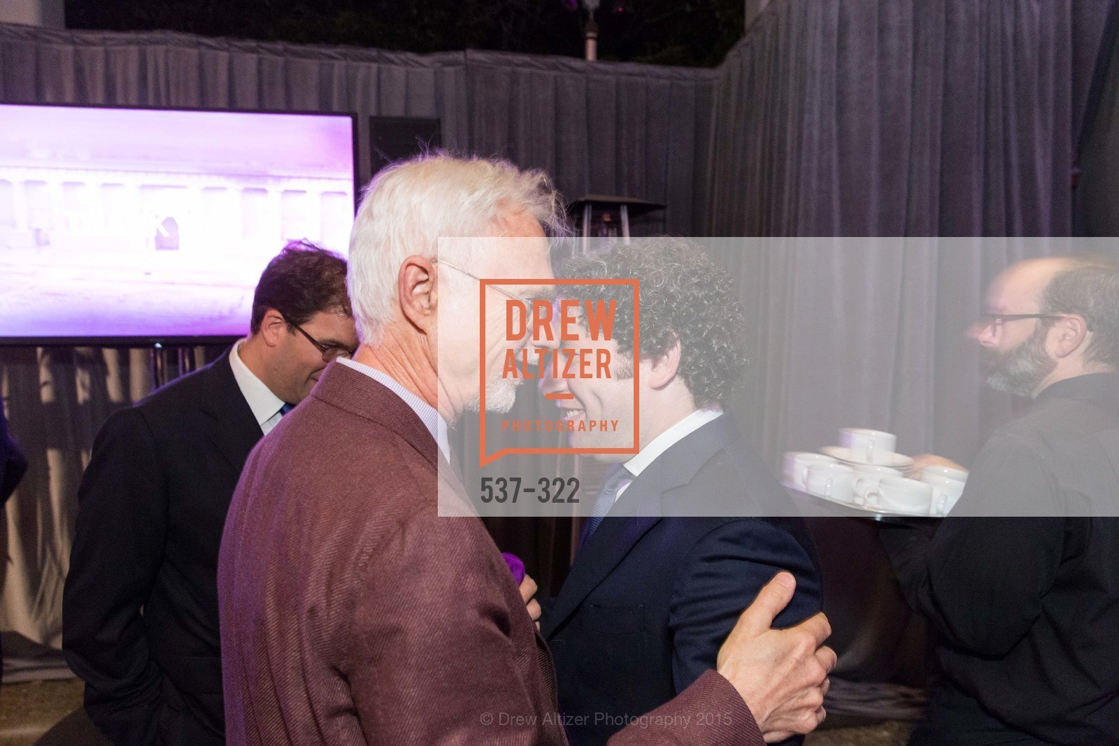 John Adams, Gustavo Dudamel, Gala at The Greek Benefiting Cal Performances, UC Berkeley's Greek Theatre. 2001 Gayley Rd, September 25th, 2015,Drew Altizer, Drew Altizer Photography, full-service agency, private events, San Francisco photographer, photographer california