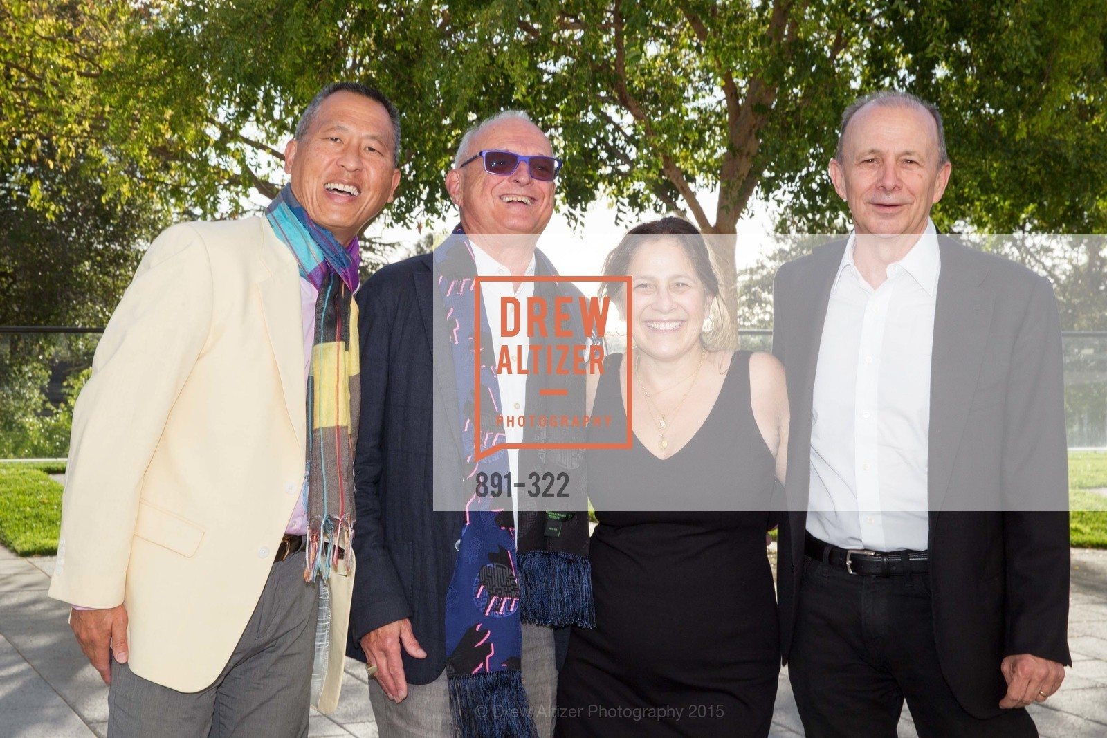 Darrell Louie, Paul Templeton, Michelle Owen, Stewart Owen, Gala at The Greek Benefiting Cal Performances, UC Berkeley's Greek Theatre. 2001 Gayley Rd, September 25th, 2015,Drew Altizer, Drew Altizer Photography, full-service agency, private events, San Francisco photographer, photographer california