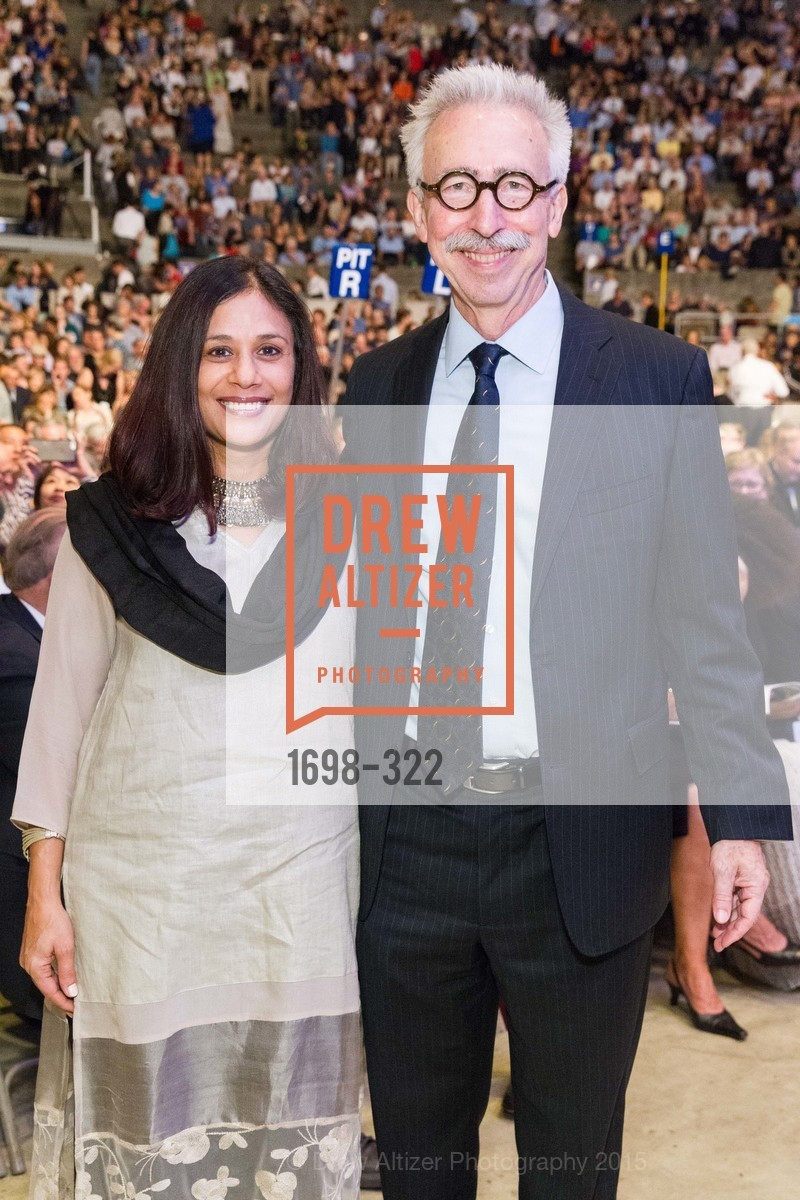 Janaki Bakhle, Nicholas Dirks, Gala at The Greek Benefiting Cal Performances, UC Berkeley's Greek Theatre. 2001 Gayley Rd, September 25th, 2015,Drew Altizer, Drew Altizer Photography, full-service agency, private events, San Francisco photographer, photographer california