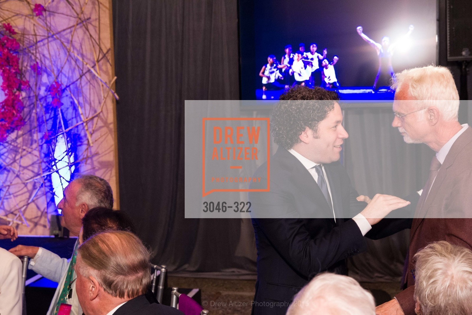 Gustavo Dudamel, John Adams, Gala at The Greek Benefiting Cal Performances, UC Berkeley's Greek Theatre. 2001 Gayley Rd, September 25th, 2015,Drew Altizer, Drew Altizer Photography, full-service event agency, private events, San Francisco photographer, photographer California
