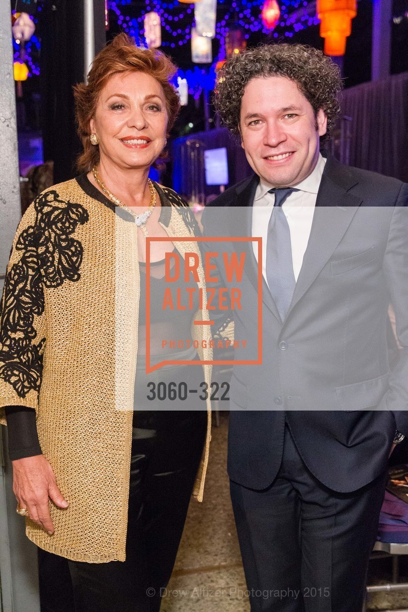 Maria Manetti Shrem, Gustavo Dudamel, Gala at The Greek Benefiting Cal Performances, UC Berkeley's Greek Theatre. 2001 Gayley Rd, September 25th, 2015,Drew Altizer, Drew Altizer Photography, full-service agency, private events, San Francisco photographer, photographer california
