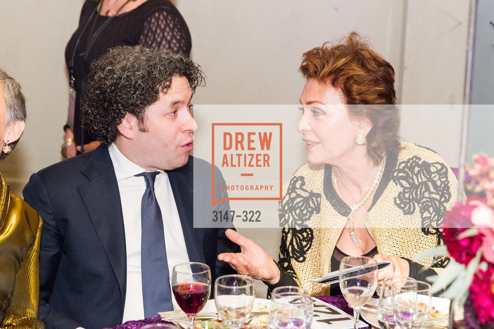 Gustavo Dudamel, Maria Manetti Shrem, Gala at The Greek Benefiting Cal Performances, UC Berkeley's Greek Theatre. 2001 Gayley Rd, September 25th, 2015,Drew Altizer, Drew Altizer Photography, full-service agency, private events, San Francisco photographer, photographer california