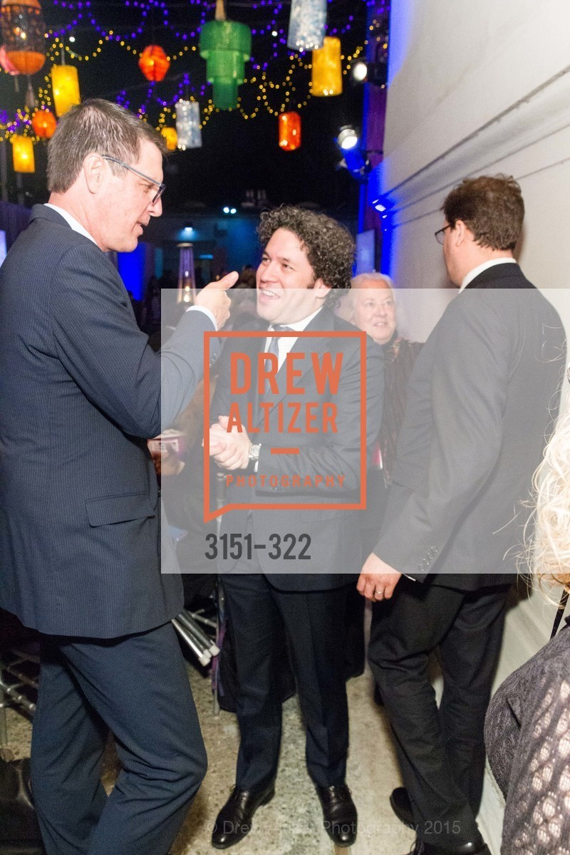 Grant Snyder, Gustavo Dudamel, Gala at The Greek Benefiting Cal Performances, UC Berkeley's Greek Theatre. 2001 Gayley Rd, September 25th, 2015,Drew Altizer, Drew Altizer Photography, full-service agency, private events, San Francisco photographer, photographer california
