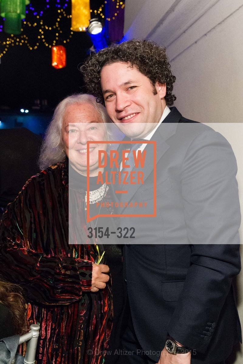 Helen Meyer, Gustavo Dudamel, Gala at The Greek Benefiting Cal Performances, UC Berkeley's Greek Theatre. 2001 Gayley Rd, September 25th, 2015,Drew Altizer, Drew Altizer Photography, full-service agency, private events, San Francisco photographer, photographer california