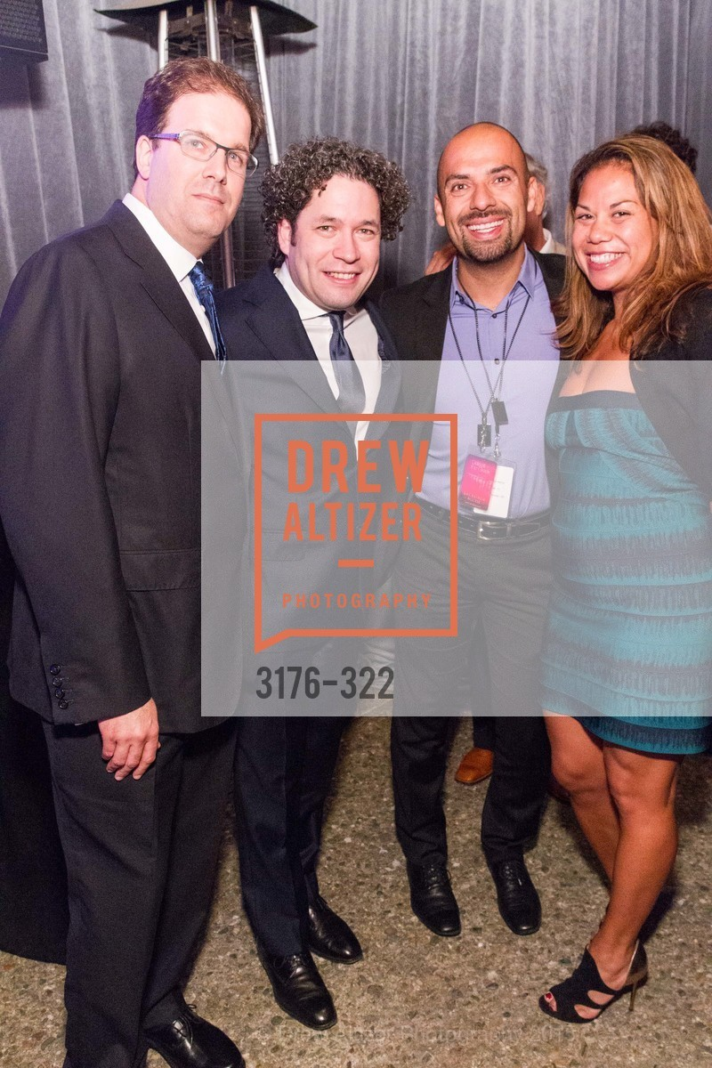 Matias Tarnopolsky, Gustavo Dudamel, Gala at The Greek Benefiting Cal Performances, UC Berkeley's Greek Theatre. 2001 Gayley Rd, September 25th, 2015,Drew Altizer, Drew Altizer Photography, full-service agency, private events, San Francisco photographer, photographer california