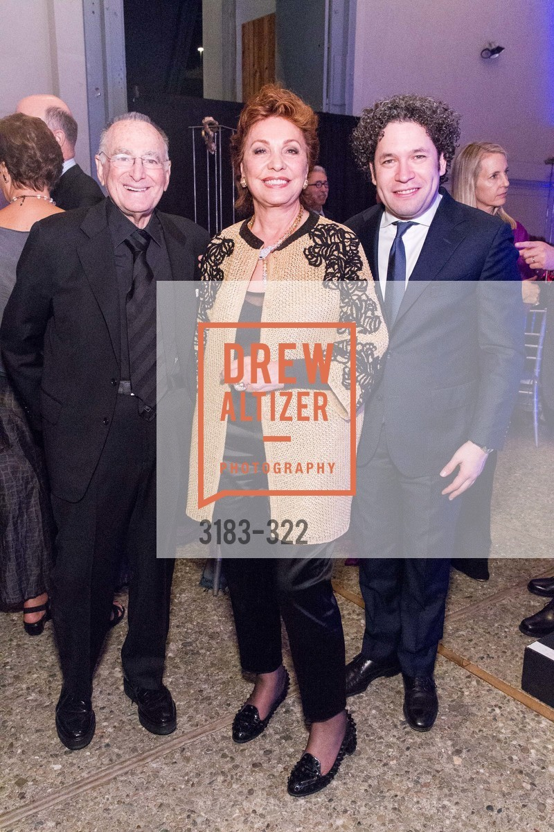 Jan Shrem, Maria Manetti Shrem, Gustavo Dudamel, Gala at The Greek Benefiting Cal Performances, UC Berkeley's Greek Theatre. 2001 Gayley Rd, September 25th, 2015,Drew Altizer, Drew Altizer Photography, full-service agency, private events, San Francisco photographer, photographer california