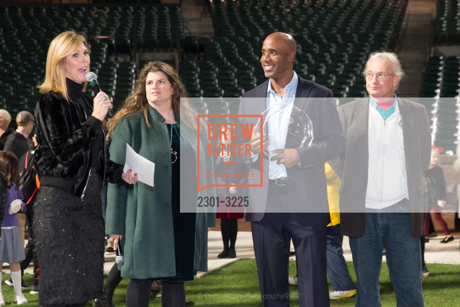 Mendy Calegari, Amy Wender-Hoch, Barry Bonds, Mike Herbst, Photo #2301-3225
