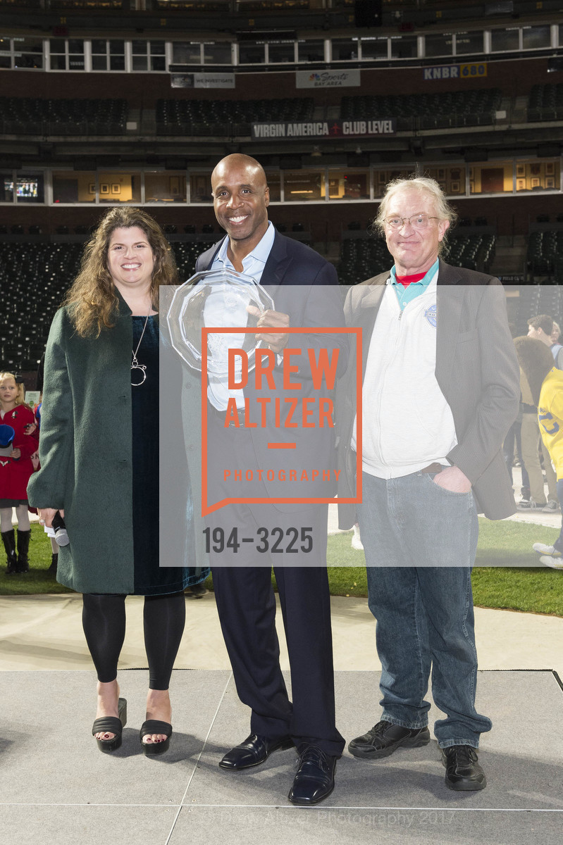 Amy Wender-Hoch, Barry Bonds, Mike Herbst, Photo #194-3225
