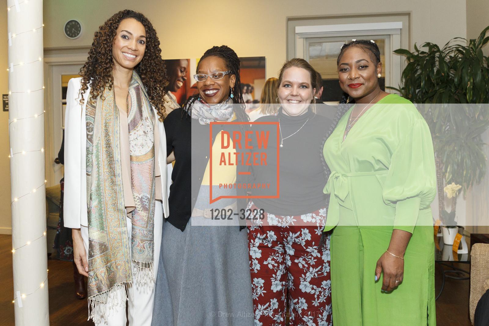 Gina Clayton, Latifah Simon, Kia Kolderup-Lane, Alicia Garza, Photo #1202-3228