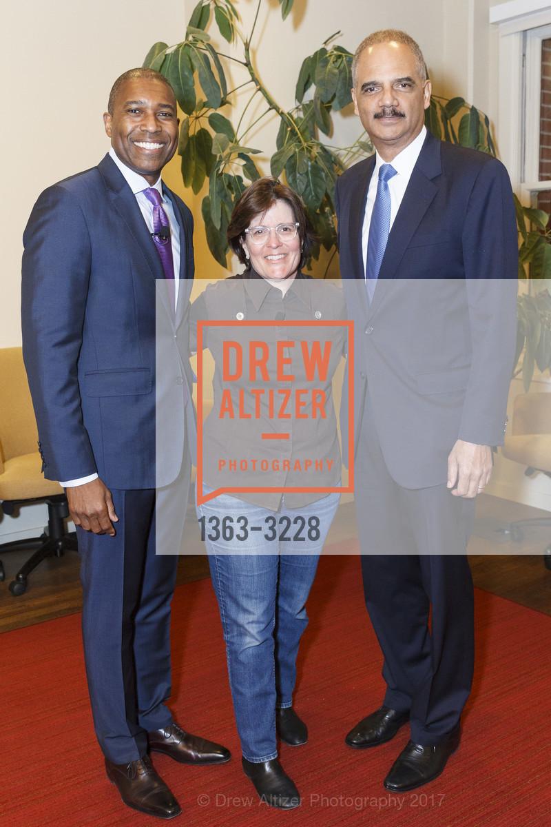Tony West, Kara Swisher, Eric Holder, Photo #1363-3228