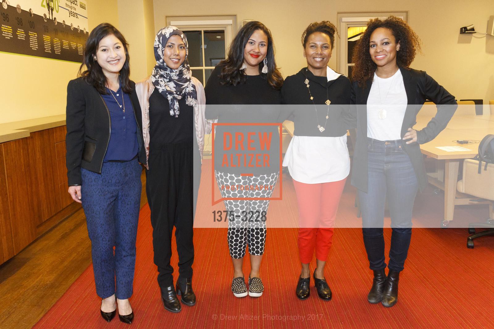 Mana Nakagawa, Johana Bhuiyan, Bettie Thompson, Maxine Williams, Monique Dorsainvil, Photo #1375-3228