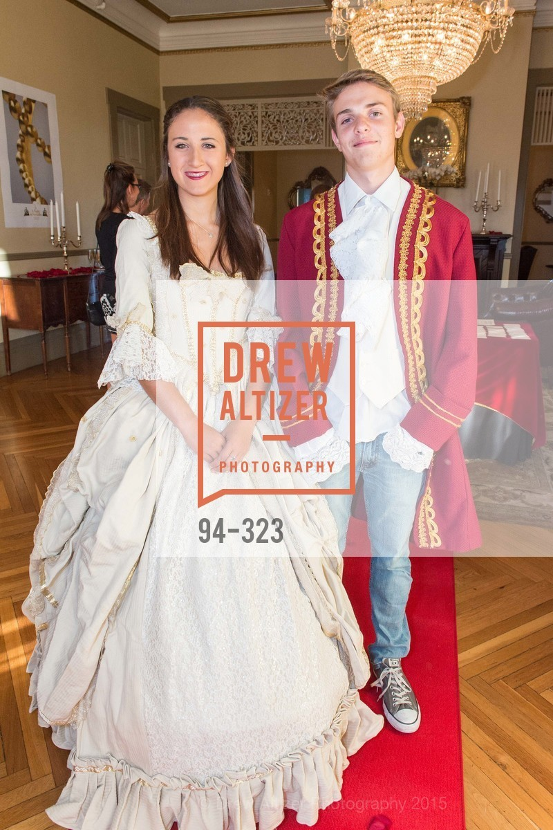 Julianna Testa, John Paul Christen, A Night in Versailles, General's Residence. 1 Franklin St, September 25th, 2015,Drew Altizer, Drew Altizer Photography, full-service agency, private events, San Francisco photographer, photographer california