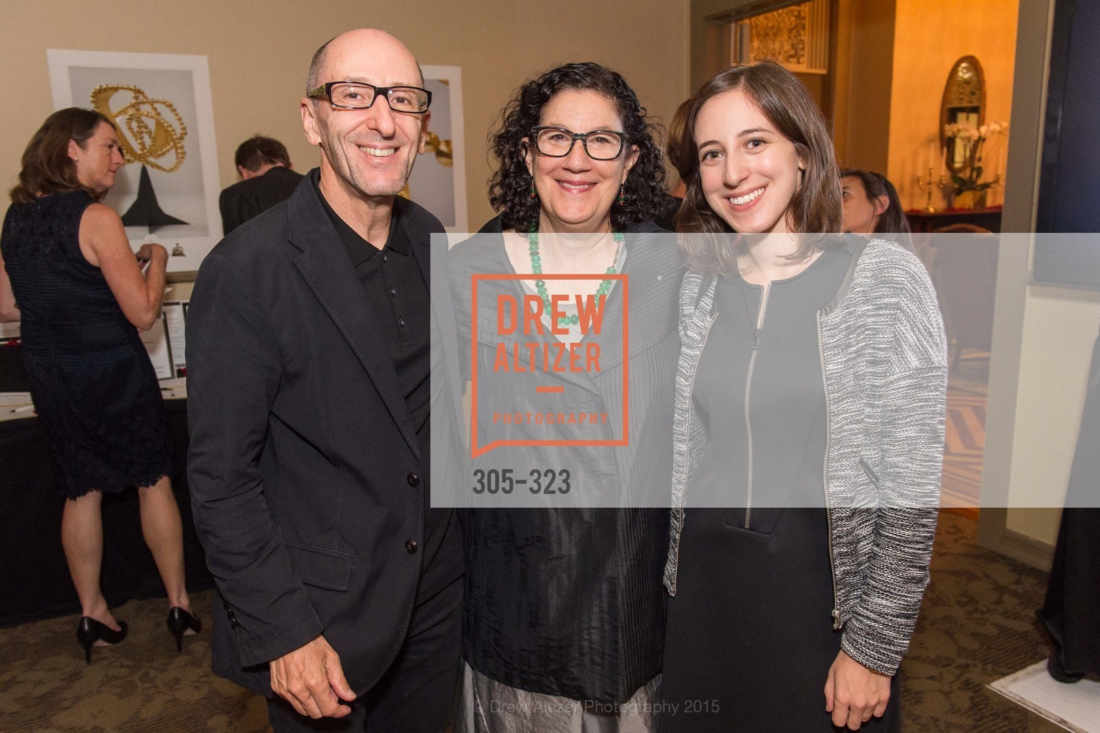 Thierry D'Allant, Ruth Berson, Josephine D'Allant, A Night in Versailles, General's Residence. 1 Franklin St, September 25th, 2015,Drew Altizer, Drew Altizer Photography, full-service agency, private events, San Francisco photographer, photographer california