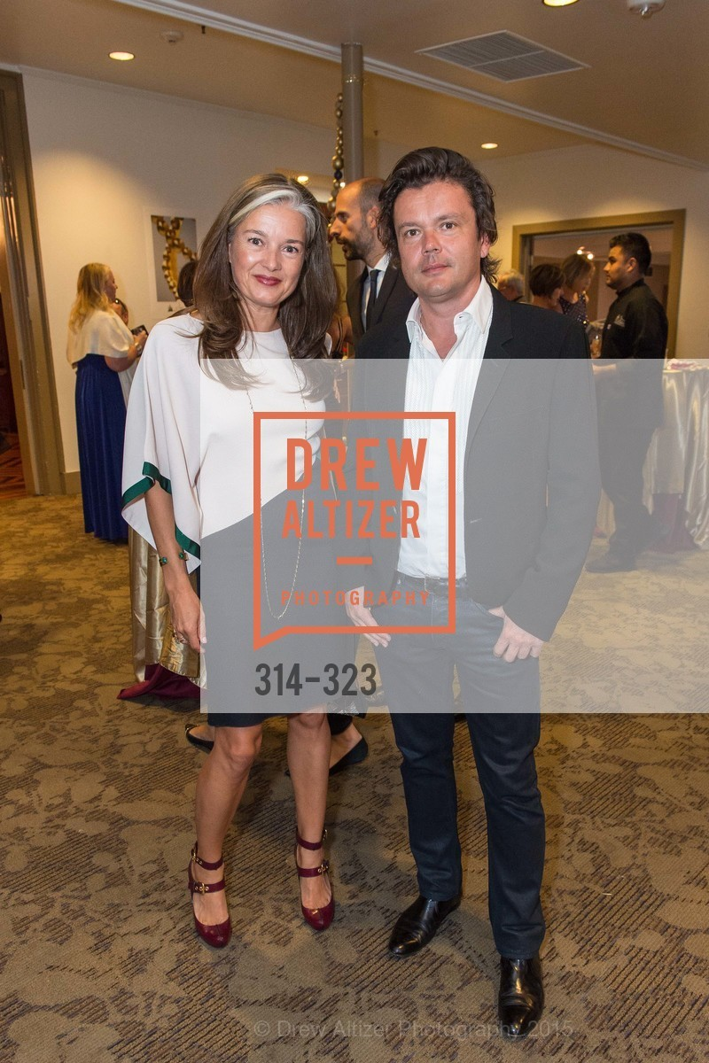 Julie Letinard, Jean-Michel Othoniel, A Night in Versailles, General's Residence. 1 Franklin St, September 25th, 2015,Drew Altizer, Drew Altizer Photography, full-service agency, private events, San Francisco photographer, photographer california