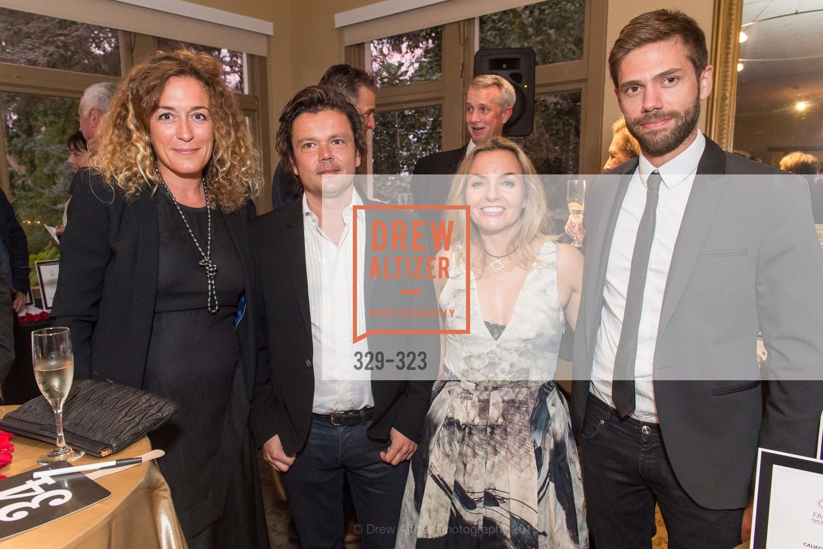 Peggy Lebouf, Jean-Michel Othoniel, Stacee Christen, Rafael Gatel, A Night in Versailles, General's Residence. 1 Franklin St, September 25th, 2015,Drew Altizer, Drew Altizer Photography, full-service agency, private events, San Francisco photographer, photographer california