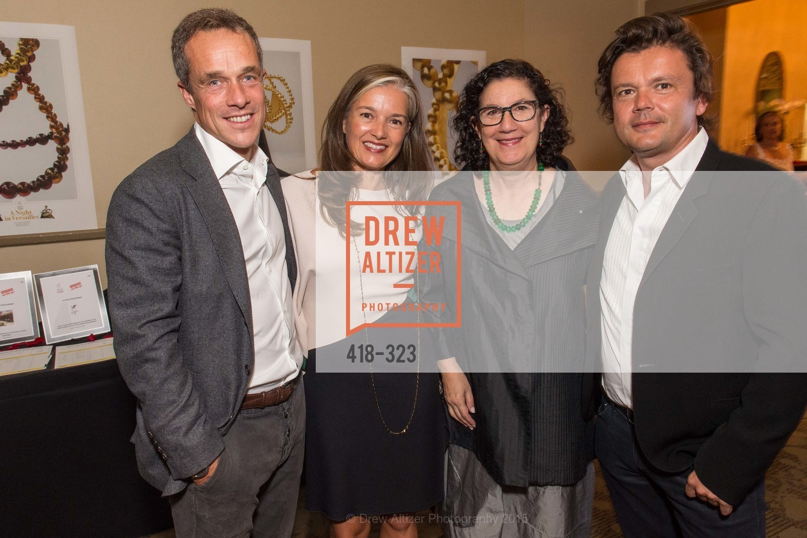 Sebastien Lepinard, Julie Lepinard, Ruth Berson, Jean-Michel Othoniel, A Night in Versailles, General's Residence. 1 Franklin St, September 25th, 2015,Drew Altizer, Drew Altizer Photography, full-service agency, private events, San Francisco photographer, photographer california