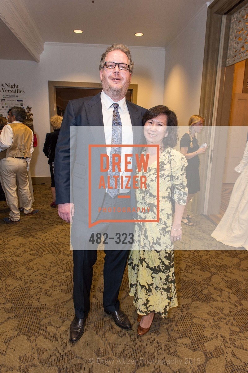 Meilling Yang, Johann Rouselle, A Night in Versailles, General's Residence. 1 Franklin St, September 25th, 2015,Drew Altizer, Drew Altizer Photography, full-service agency, private events, San Francisco photographer, photographer california