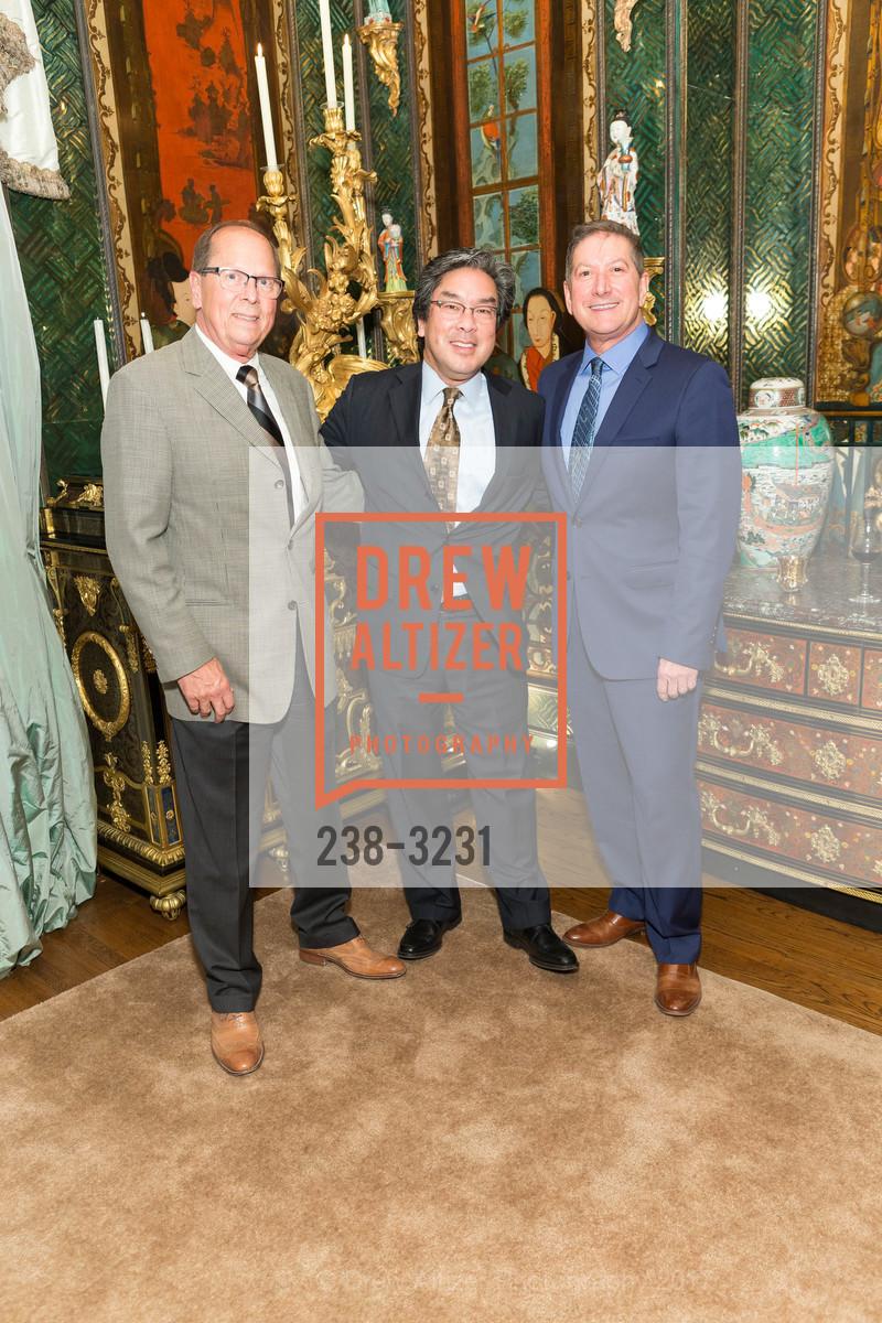 Bob Sauter, John Noguchi, Joe D'Alessandro, Photo #238-3231
