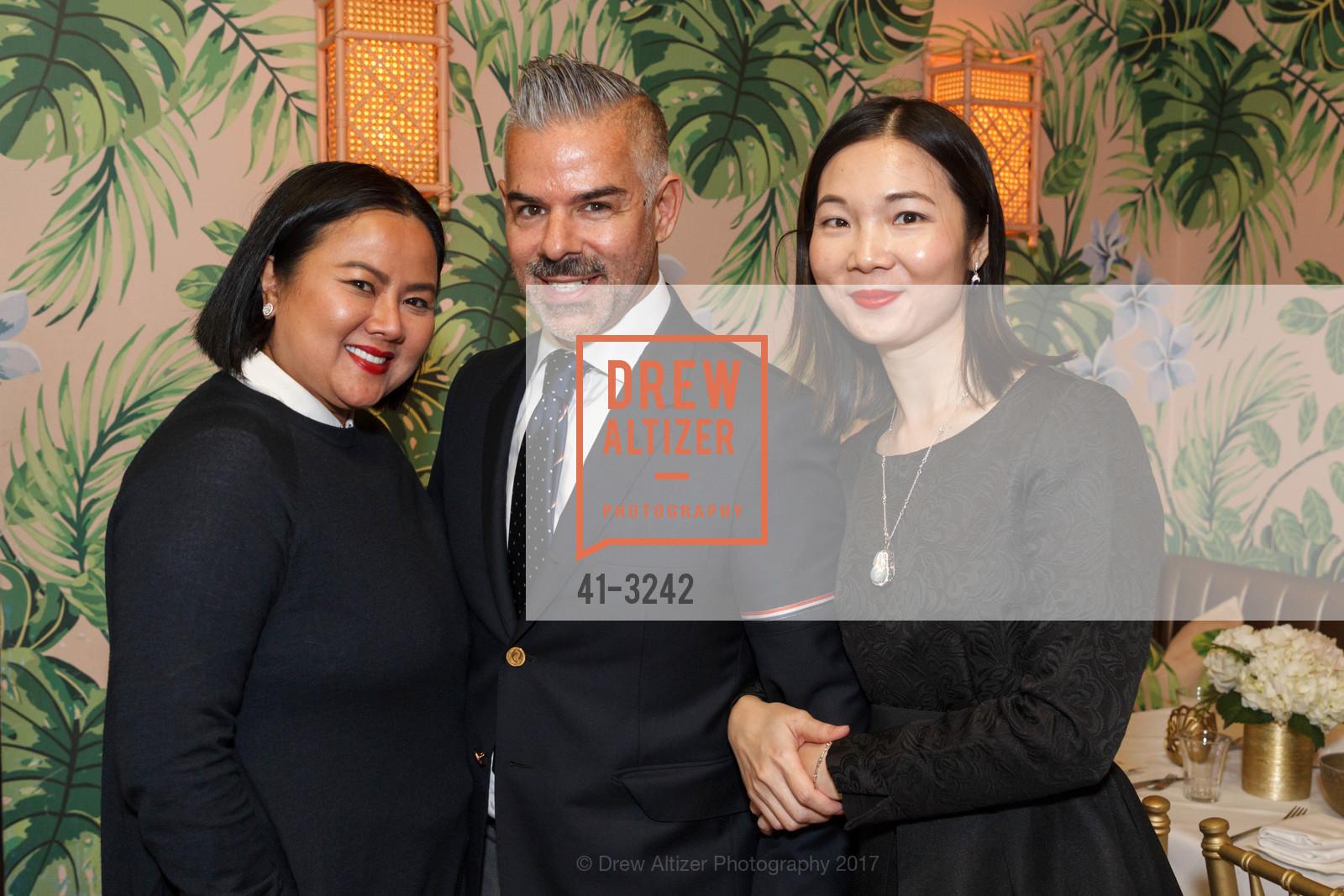 Jamie Wong, Ron Barajas, Sylvia Zhang, Photo #41-3242