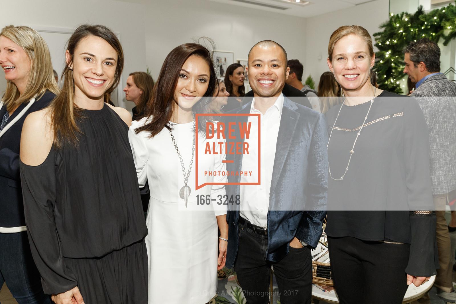 Lauren Cowell, Denise Seguritan, Fred Seguritan, Alison Bhusri, Photo #166-3248