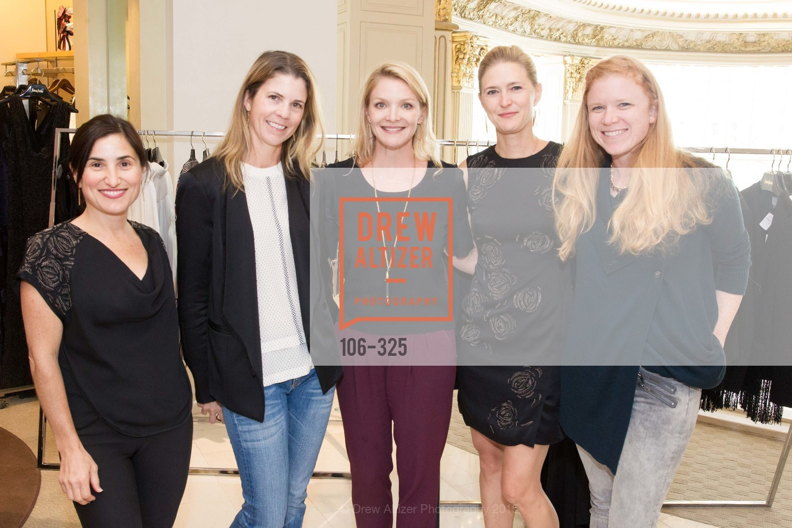 Zem Joaquin, Natasha Bradley, Kristy Caylor, Alicia Engstrom, Robyn Beavers, Maiyet Reception at Neiman Marcus, Neiman Marcus, September 29th, 2015,Drew Altizer, Drew Altizer Photography, full-service event agency, private events, San Francisco photographer, photographer California