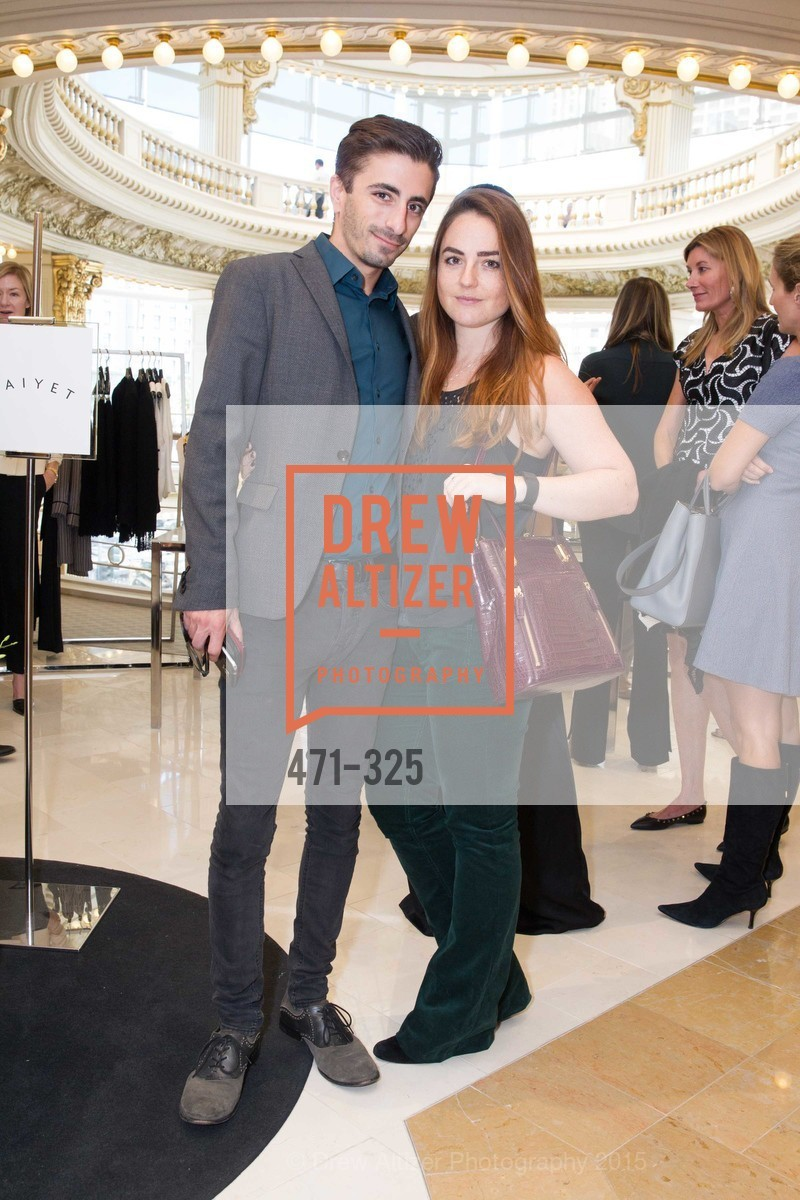 Adam Simonoff, Natalie Krane, Maiyet Reception at Neiman Marcus, Neiman Marcus, September 29th, 2015