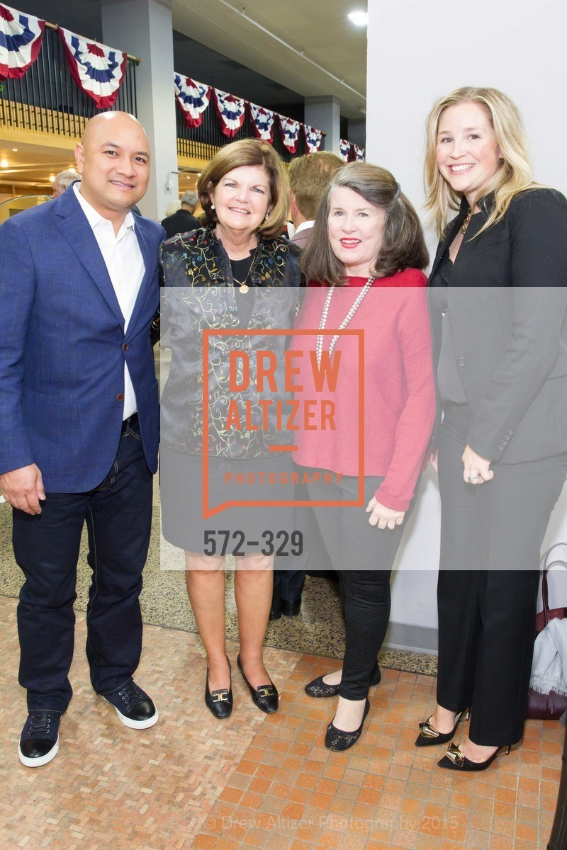 Ian Picache, Carolyn Rogers, Peggy Mitchell, Patricia Calfee, Metropolitan Club Sponsor Party, Academy of Art University. 1849 Washington Street, October 1st, 2015,Drew Altizer, Drew Altizer Photography, full-service agency, private events, San Francisco photographer, photographer california