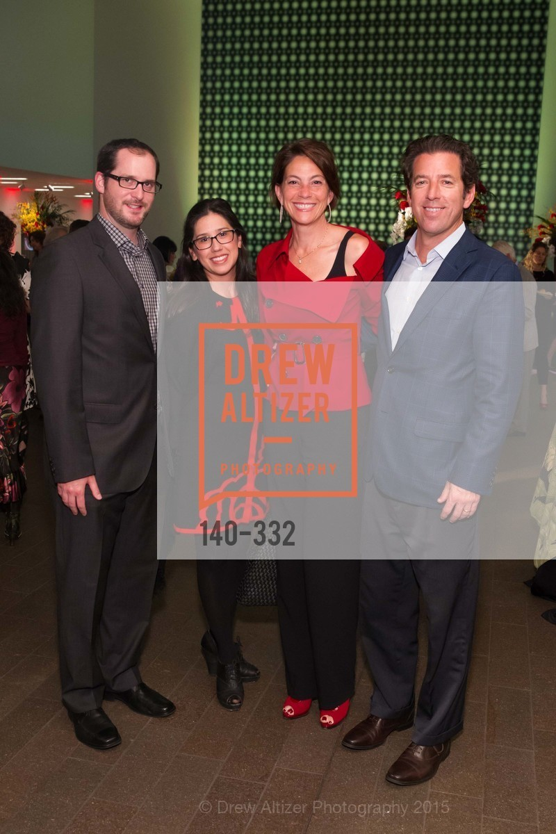 Dan Hartz, Jenae Hartz, Claudine Osipow, Dan Osipow, Royal Hawaiian Featherwork Donor Reception at de Young, de Young Museum, September 30th, 2015,Drew Altizer, Drew Altizer Photography, full-service agency, private events, San Francisco photographer, photographer california