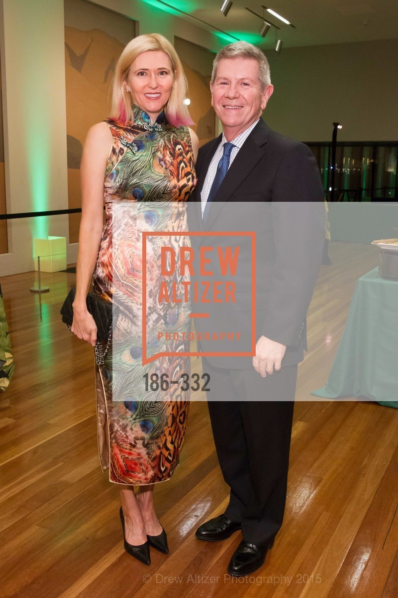Lauren Hall, Richard Benefield, Royal Hawaiian Featherwork Donor Reception at de Young, de Young Museum, September 30th, 2015,Drew Altizer, Drew Altizer Photography, full-service agency, private events, San Francisco photographer, photographer california