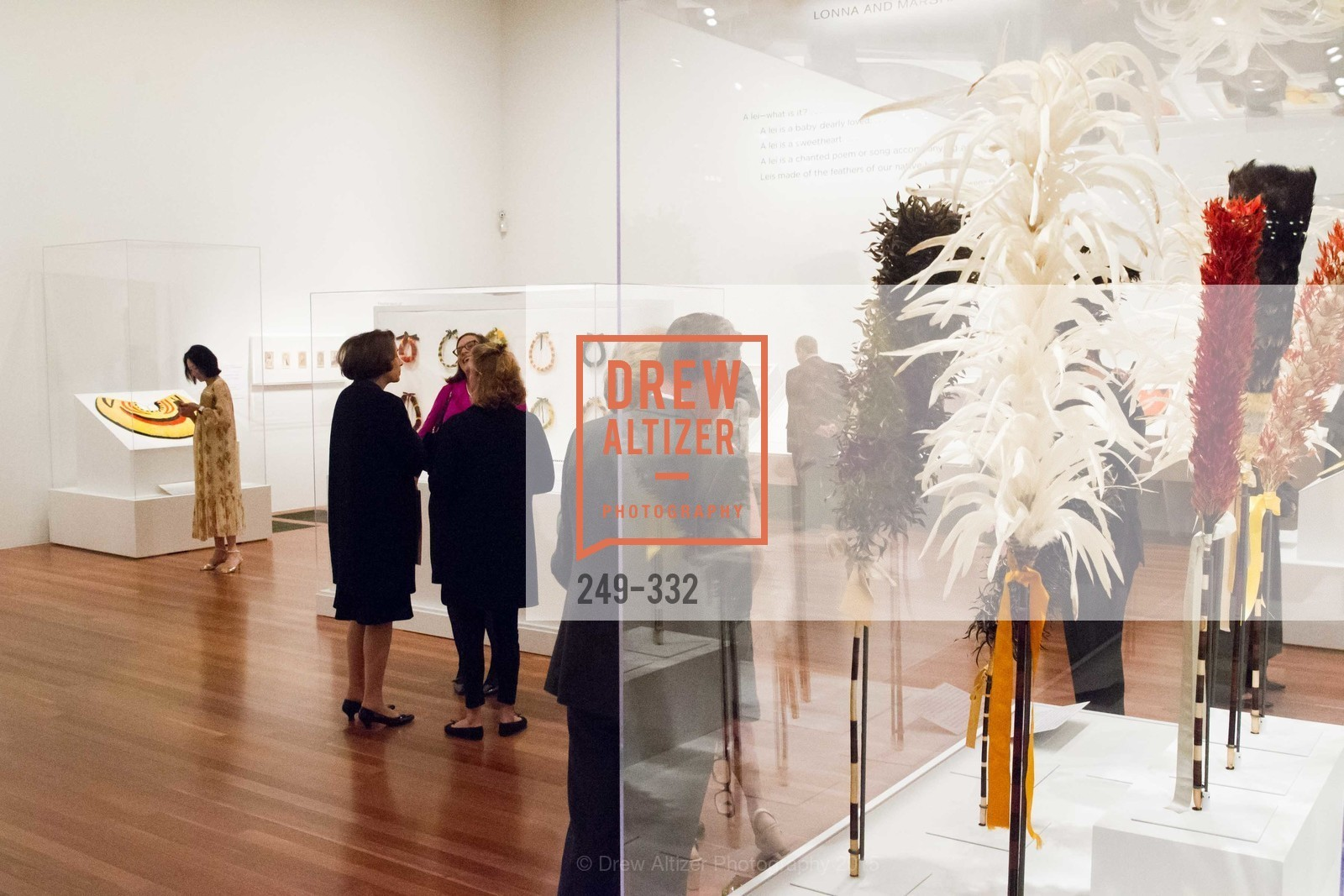 Atmosphere, Royal Hawaiian Featherwork Donor Reception at de Young, de Young Museum, September 30th, 2015,Drew Altizer, Drew Altizer Photography, full-service agency, private events, San Francisco photographer, photographer california