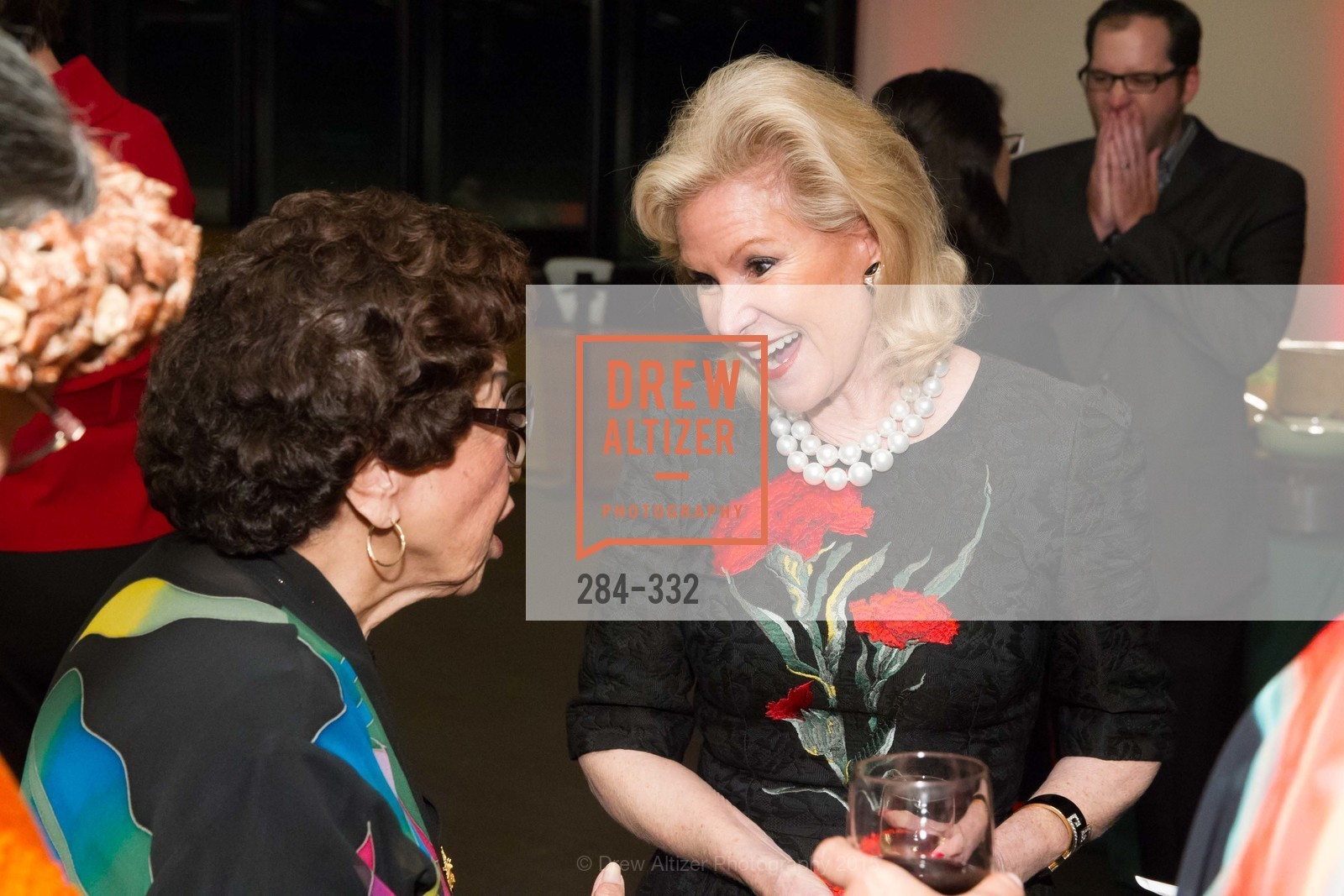 Dede Wilsey, Royal Hawaiian Featherwork Donor Reception at de Young, de Young Museum, September 30th, 2015,Drew Altizer, Drew Altizer Photography, full-service agency, private events, San Francisco photographer, photographer california