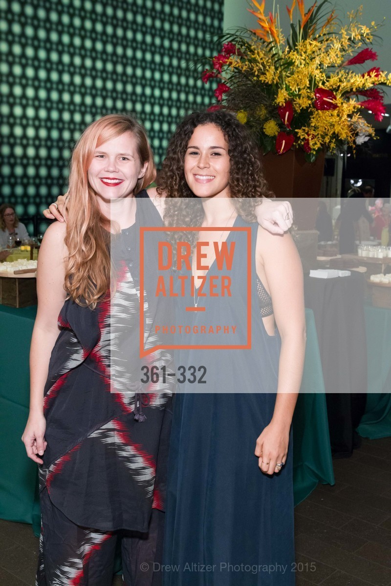Pakayla Ray, Mikaela Roscano, Royal Hawaiian Featherwork Donor Reception at de Young, de Young Museum, September 30th, 2015,Drew Altizer, Drew Altizer Photography, full-service agency, private events, San Francisco photographer, photographer california
