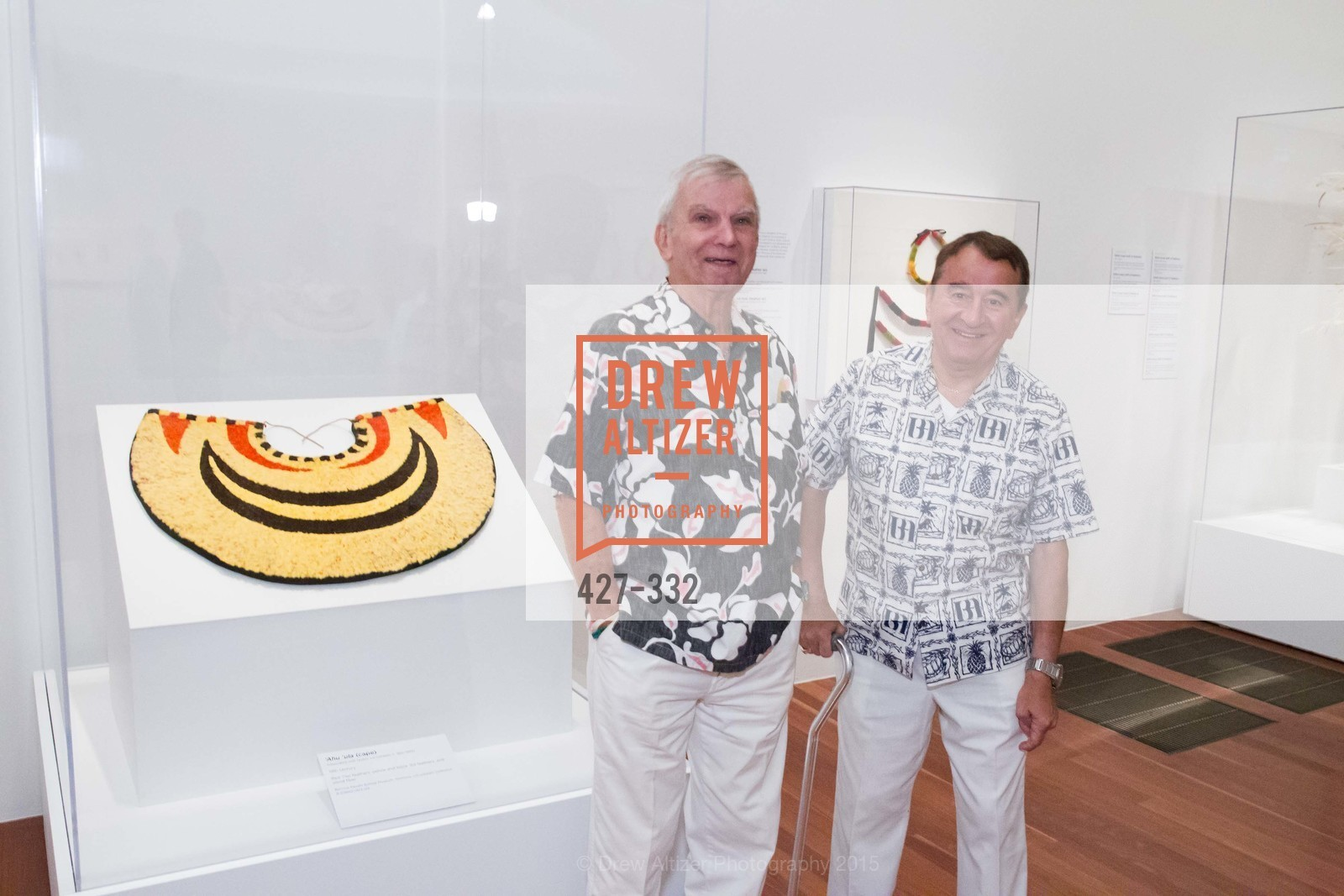 Milton Mosk, Thomas Filch, Royal Hawaiian Featherwork Donor Reception at de Young, de Young Museum, September 30th, 2015,Drew Altizer, Drew Altizer Photography, full-service agency, private events, San Francisco photographer, photographer california