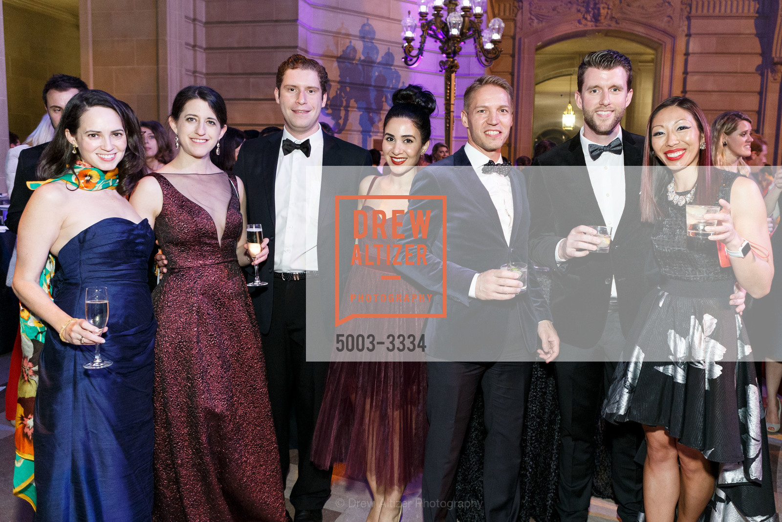 Group Of Guests At Sf Ballet Opening Night Gala Celestial 2018